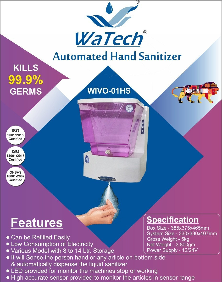 AUTOMATED HAND SANITIZER
