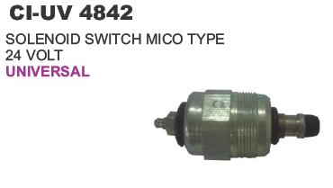 Solenoid Switch 24 Volt Universal