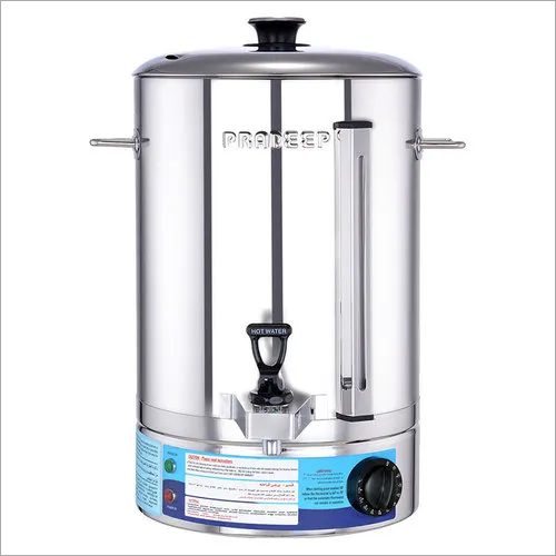 Water Boiler Single Wall SS 20 Ltr, 2.8 Kw Commercial