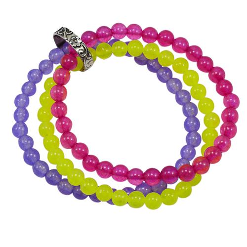 Triple Layer Beaded Bracelet PG-156738