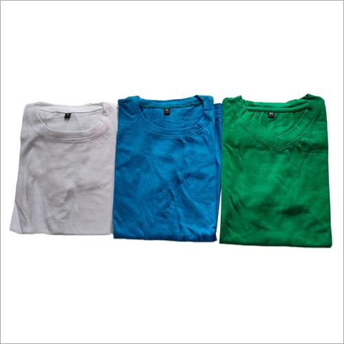 Knitted Plain T-Shirt