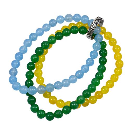 Triple Layer Beaded Bracelet PG-156742