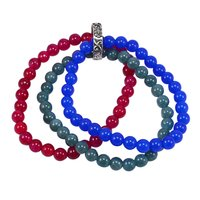Triple Layer Beaded Bracelet PG-156743