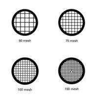 Agar Grids 200 Mesh Gold Centre mark 3.05mm (Tube of 50)