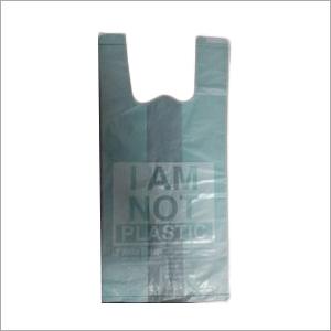 W Cut Biodegradable Carry Bag