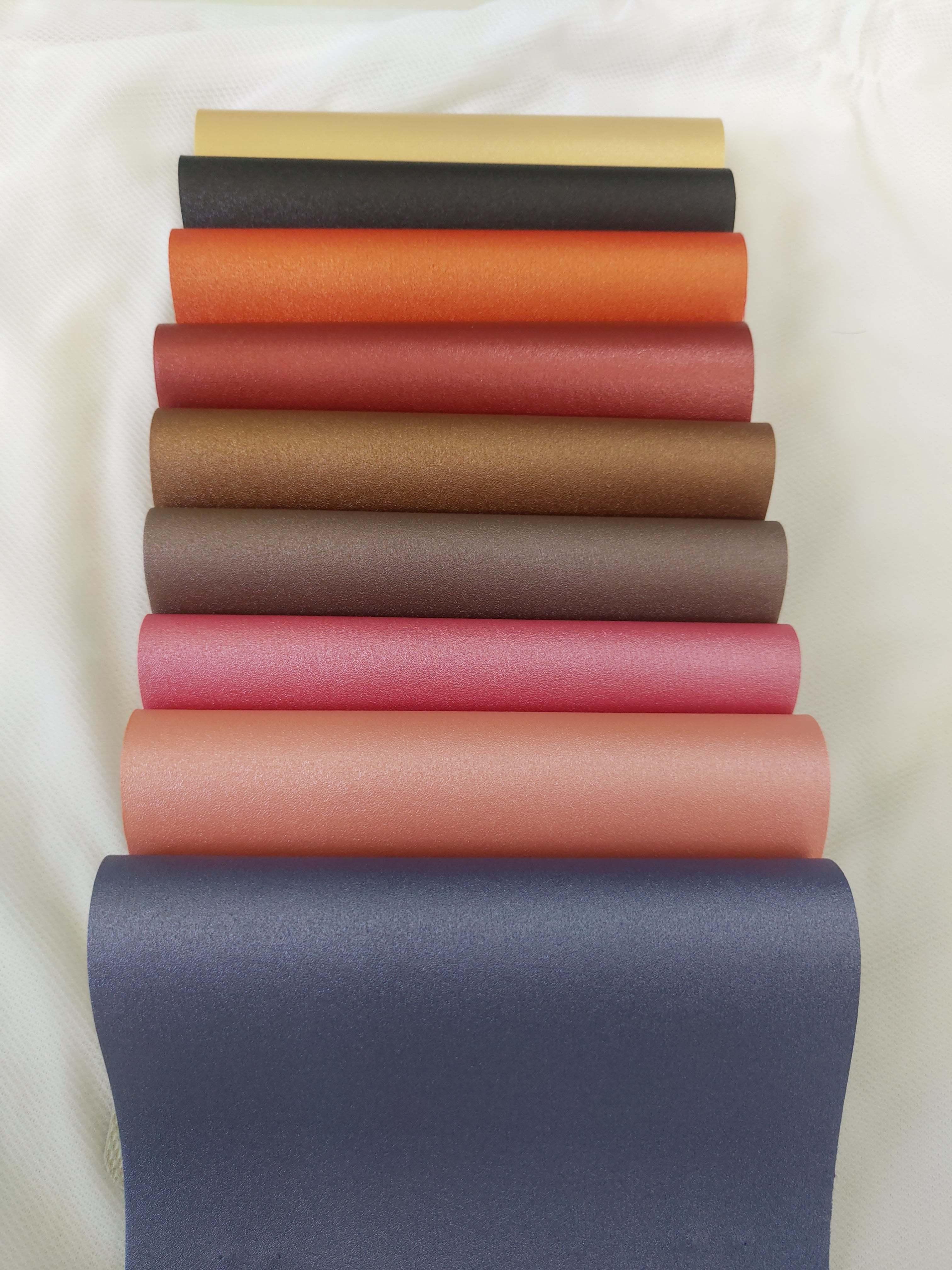 PVC Leathe Cloth / Rexine Metalic
