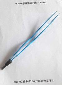 Bipolar Bayonet Curve Forcep(Imported)
