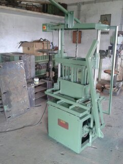 Hollow Block Making Machine - Heavy Model
