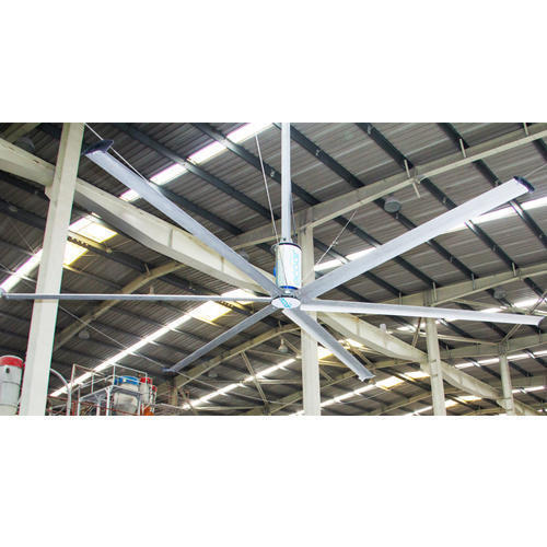 HVLS Fans for Railway Station