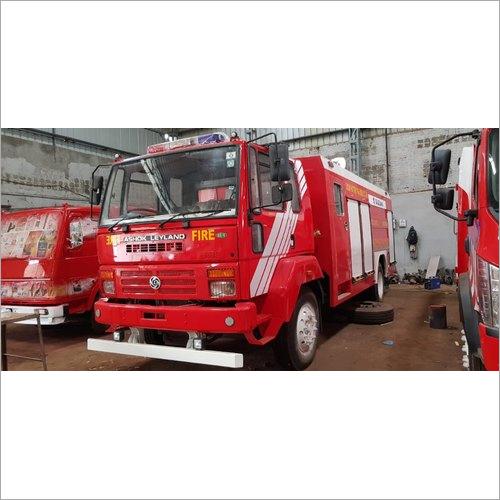 Emergency Fire Fighting Vehicle