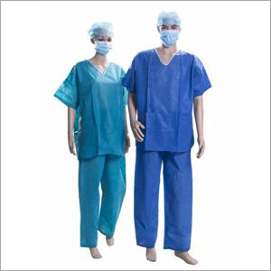 Disposable SMS Scrub Suit