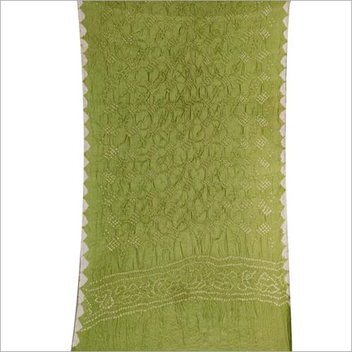 Tasar Silk Pure Bandhej Stoll Dupatta
