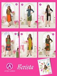 Berista Ayush Fashion Launch Linen Ruby Kurti