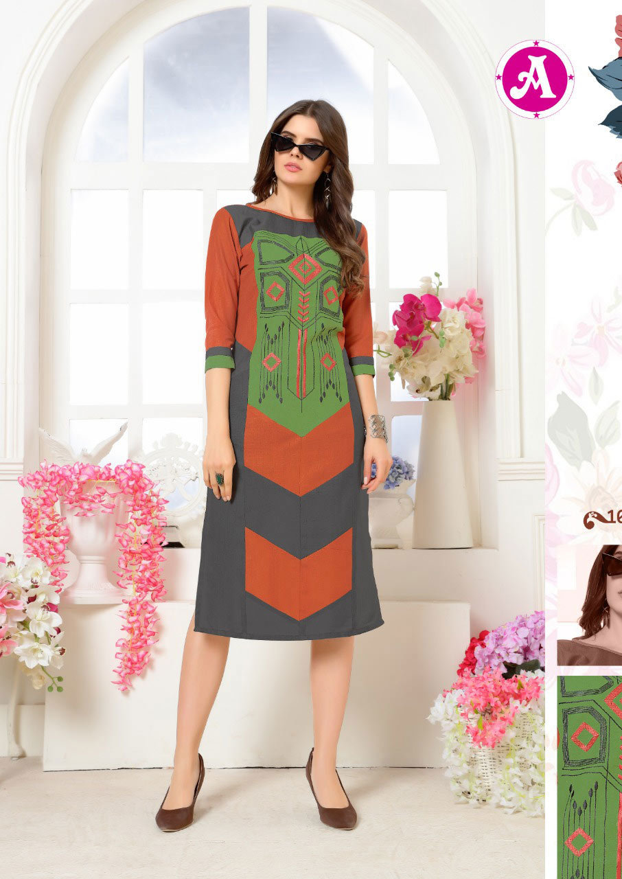 Berista Ayush Fashion Launch Linen Ruby Kurti
