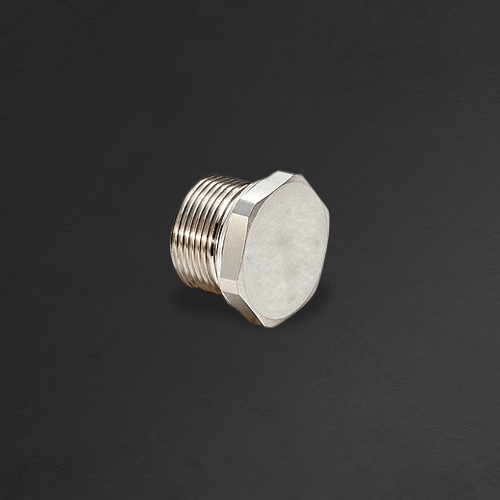 Brass Hexagonal Stop Plug