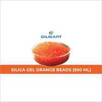 Silica Gel Orange Beads