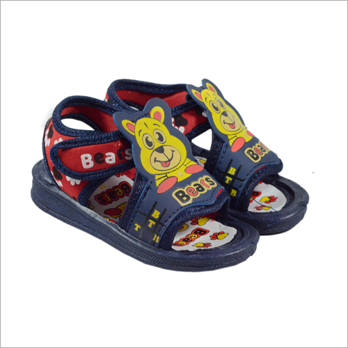 Kids Red-Nbl Bear Sandal