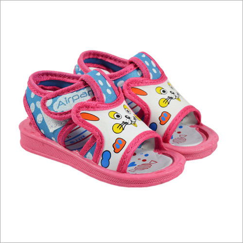 Kids Sky-Pink Cat Sandal