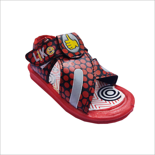 Kids Black-Red Like Sandal