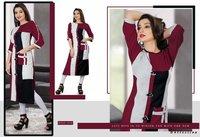 Bhagyashree Tf Designer Plain Daily Wear Kurti