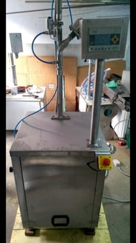 Single Head Semi Automatic Gear Pump Filling Machine