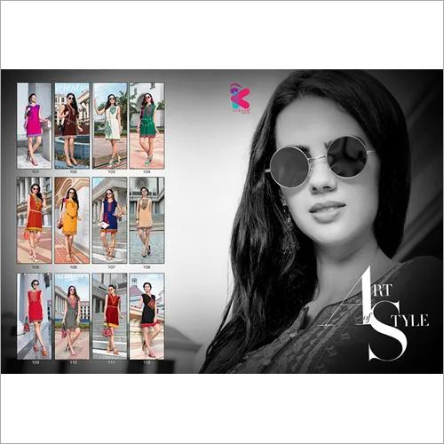 Biba Kersom Designer Daily Wear Wholesale Kurti