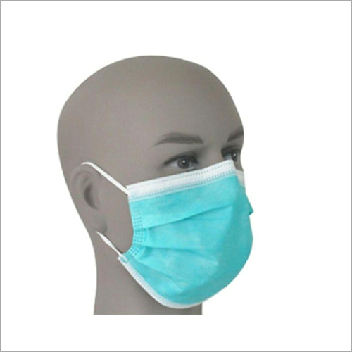 Triple Layer Surgical Mask with Elastic Band
