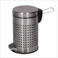 Bin Pedal Square / Round Perforated 7 x 11