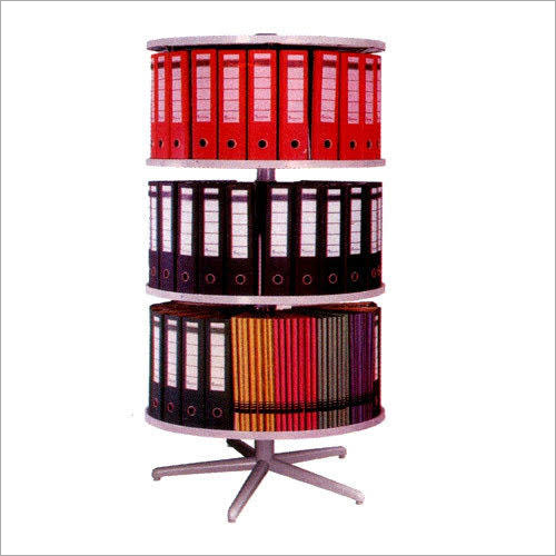Round Steel File Rack