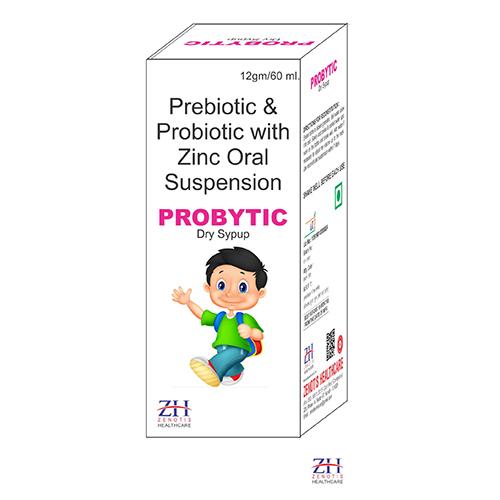 Prebiotic, Probiotic &  Zinc Dry Syrup