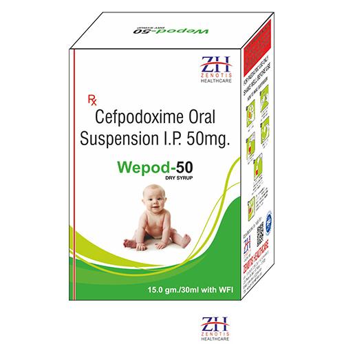 Cefpodoxime 50mg Dry Syrup