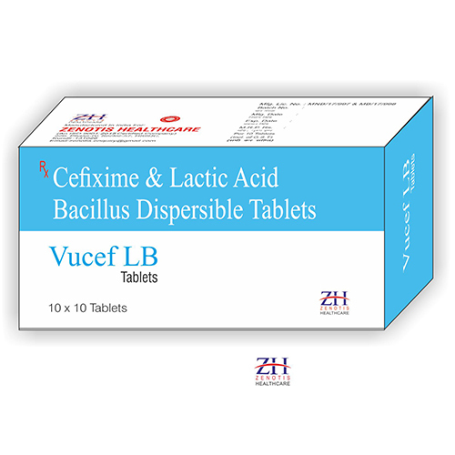Cefixime 200mg with Lactic Acid Bacillus
