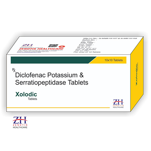 Diclofenac & Serratiopeptidase Tablets