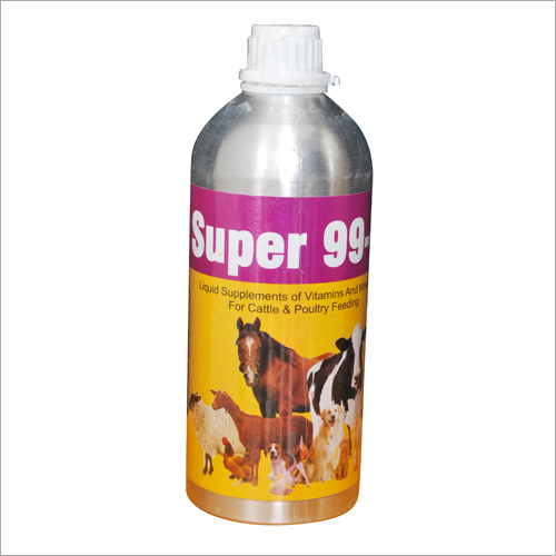 Super 99 H- Vitamins And Mineral Liquid Supplement