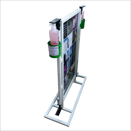 Dual Foot Operated Sanitizer Dispenser