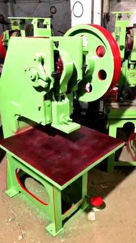Semi Automatic Power press Slipper Making Machine