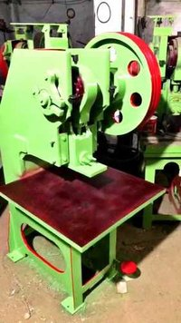 Semi Automatic Power Press Slipper Making Machine