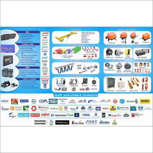 E T O Crane Spare  Parts & Handling Equipment