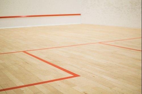 Teak Wood Squash Court Floor
