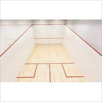Indoor Squash Court Flooring