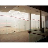 Wooden Squash Court Floor