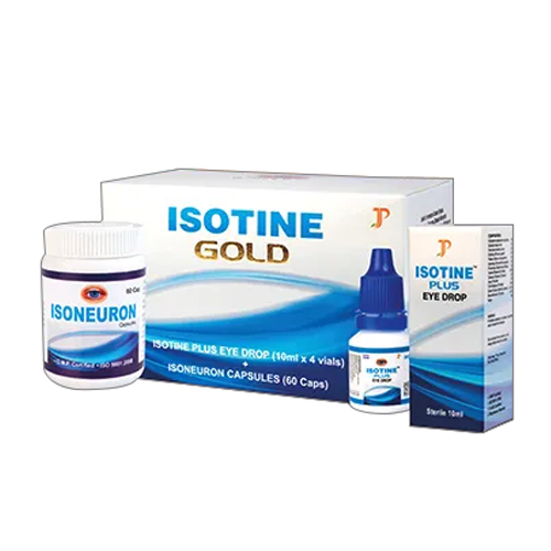 Isotine Gold Eye Drops