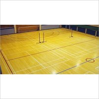 Badminton Court Wooden Floor