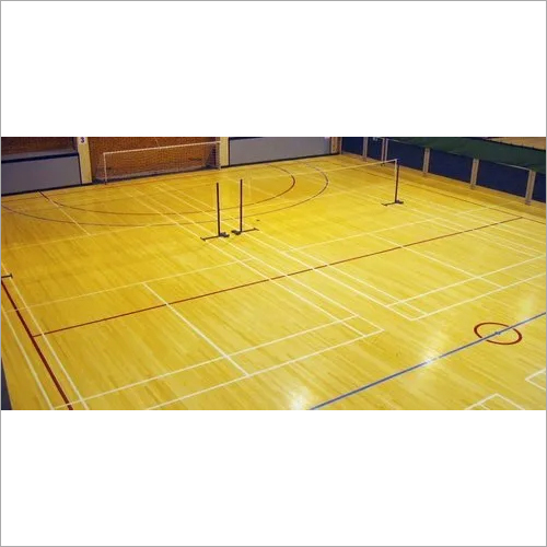 Badminton Court Wooden Flooring