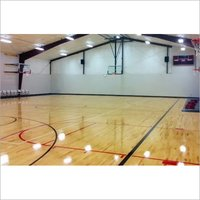 Basketball Court Wooden Sports Flooring