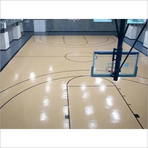 Basketball Court Wooden Floor