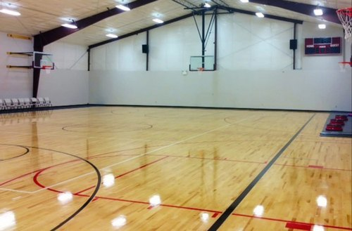 Basketball Court Sports Wooden Floor