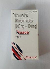 Nuace  - Danavir 800mg & Ritonavir 100mg Tablets