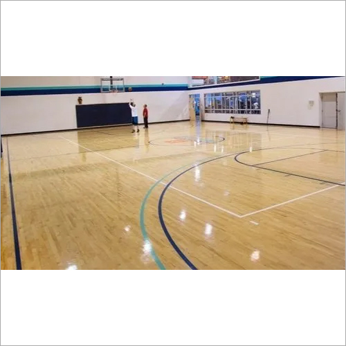 Indoor Basketball Court Wooden Flooring