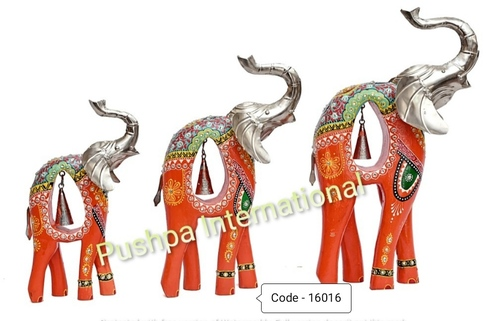 Elephant Table Decor with Bell
